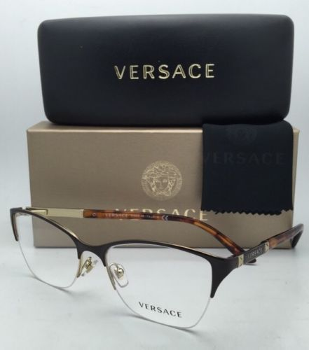 ffd131d96e13f New VERSACE Eyeglasses VE 1218 1344 53-17 and 10 similar items. 12