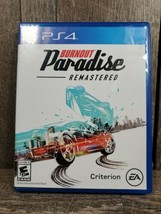 Burnout Paradise Remastered (Sony PlayStation 4, 2018) - $11.99