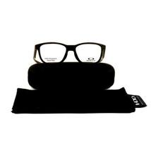 Oakley Cross Step Eyeglass OX8106 0350 Matte Woodgrain 50 16 135 Demo Lens - $87.25