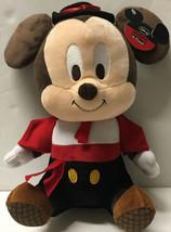 "Matador Mickey Mouse 12"" Plush Disney Stuffed Animal Changi Airport RARE... - $49.99"