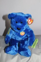 TY Retired Beanie Buddies Collection 13 Clubby Official Club Bear 1999 - $19.79