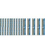 50 x Parker Quink Flow BallPoint Ball point Pen Refills BallPen Blue Fin... - $66.99