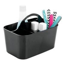 Black Caddy Tote For Shampoo Conditioner Soap Bathroom Shower Bath Organ... - $19.62