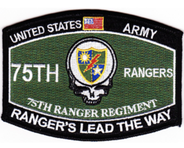 "4.5"" Us Army 75TH Ranger Regiment Ranger's Lead The Way Embroidered Patch - $16.24"