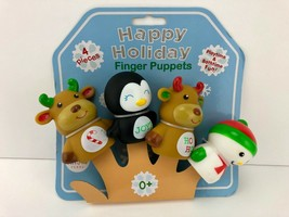 Magic Years Happy Holiday 4-Piece Finger Puppet Set - Christmas Bath-Time - $6.57
