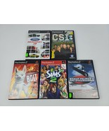 Lot of 5 PlayStation 2 PS2 Games Ford Racing 3, CSI, Bolt, Sims 2, Snowboarder - $26.17