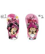 Disney Minnie Mouse  Toddler Girl's  Beach Flip Flops Sandals Various Si... - $11.19