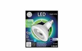 GE outdoor floodlight PAR38 medium base LED Bulb Bright White 90 Watt rep / 15W  image 2