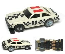 1978 Ideal TCR Checker Board Chevrolet Nova Jam Slot Less PUSH Car MK1 3333-2 - $21.77