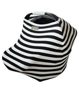 Itzy Ritzy Mom Boss 4in1 Nursing Cover - Black/White Stripe - $19.79