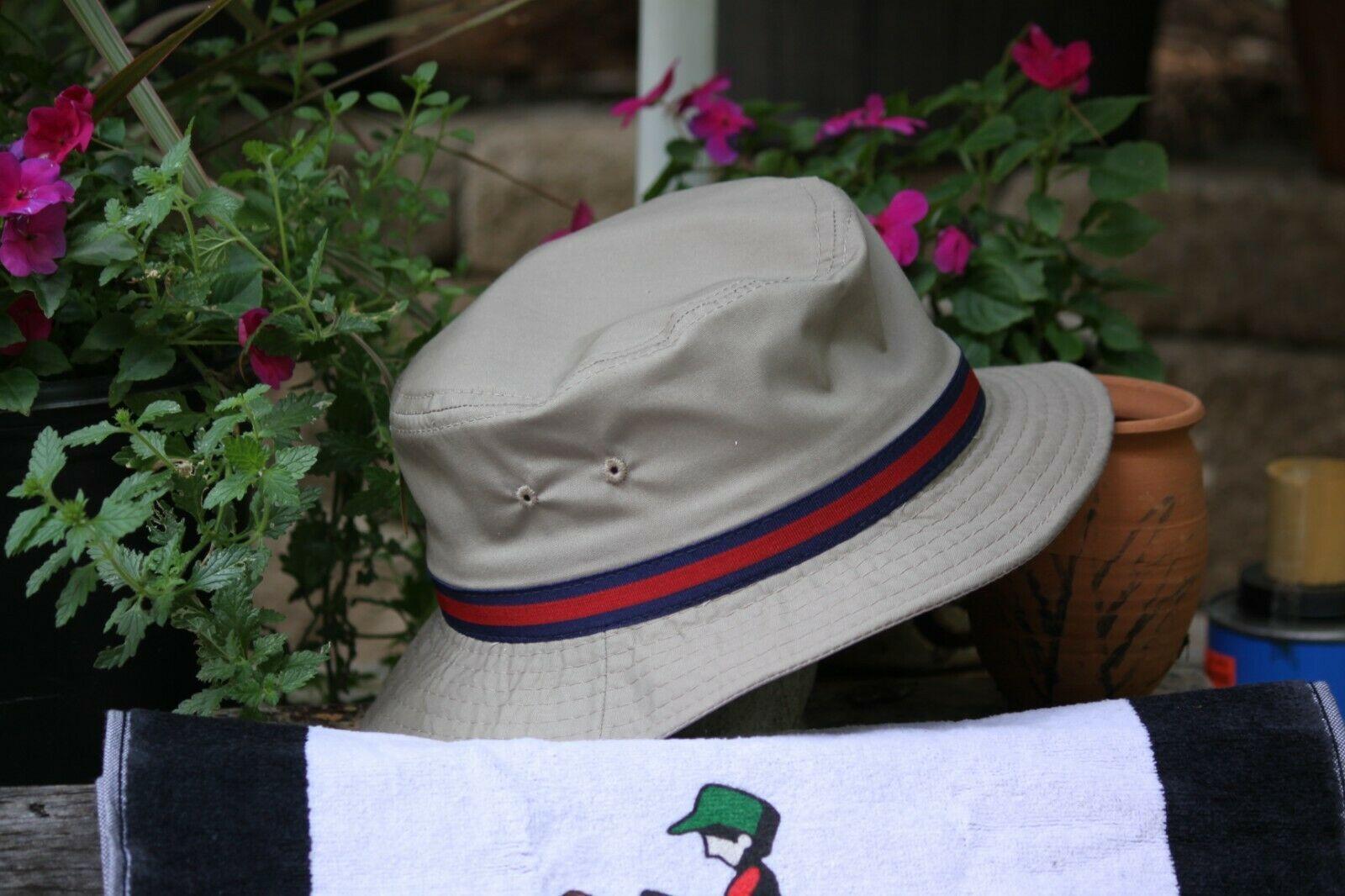Dorfman Pacific White Bucket Hat / Large/ Free US Open BM w Purchase image 2
