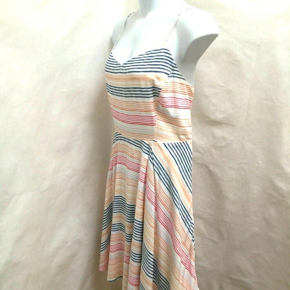 Old Navy 2X XXL Sun Dress Striped Spaghetti Strap Plus Size