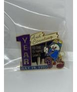 "Izzy - Atlanta 1996 Olympic Mascot Pin - "" 1 Year And Counting""  - $13.85"