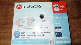 "Motorola MBP669CONNECT 2.8"" Wi-Fi Video Baby Monitor With Remote Pan And... - £76.56 GBP"