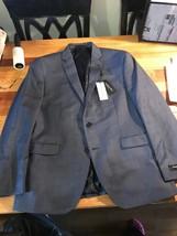 Kenneth Cole New York Men's Slim Fit Blazer Size 42 Short  Denim Color - $52.20
