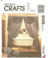 McCall's 5129 Drapes Jabots Swags Valances & Curtains Window Treatments ... - $11.47