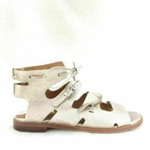 6 - Corso Como Anthropologie Metallic Leather Strappy Sandals Shoes 0000MB - $55.00