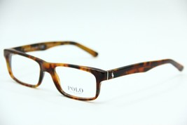 NEW POLO RALPH LAUREN PH 2140 5558 HAVANA EYEGLASSES AUTHENTIC FRAME RX ... - $57.68