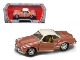 1966 Volkswagen Karmann Ghia Coral 1:18 Diecast Model Car by Road Signature - $55.46