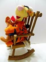 Disney Winnie the Pooh / Piglet Musical Plush Rocking Chair Christmas Ge... - $25.74