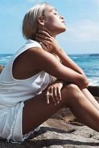 Beach Cover Up Deep V-neck Bikini Cover Ups Swimwear Women Bathing Suit white - $18.99