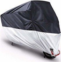 Motorcycle Cover Outdoor Moped Scooter Large Cover 210D Prevent Rain Sun UV Dust
