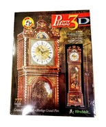 Wrebbit Puzz 3D Grandfather Clock 777 Pces real clock SEALED Puzzle PD-8... - $59.99