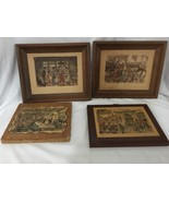 Anton Pieck Picture Lot Of 4 - $49.50