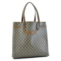 GUCCI GG Canvas Shoulder Bag Beige Auth ar1116 - $180.00
