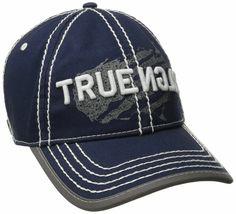 True Religion Men's Premium Vintage Print Baseball Trucker Hat Cap TR1954 image 4