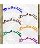 Dadzilla-Digital ClipArt-Font-PNG-Gift Tag-T shirt-Jewelry-Holiday-Scrap... - $1.99