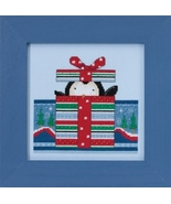 Polar Peek 2017 Polar Opposites cross stitch kit Debbie Mumm Mill Hill - $14.85