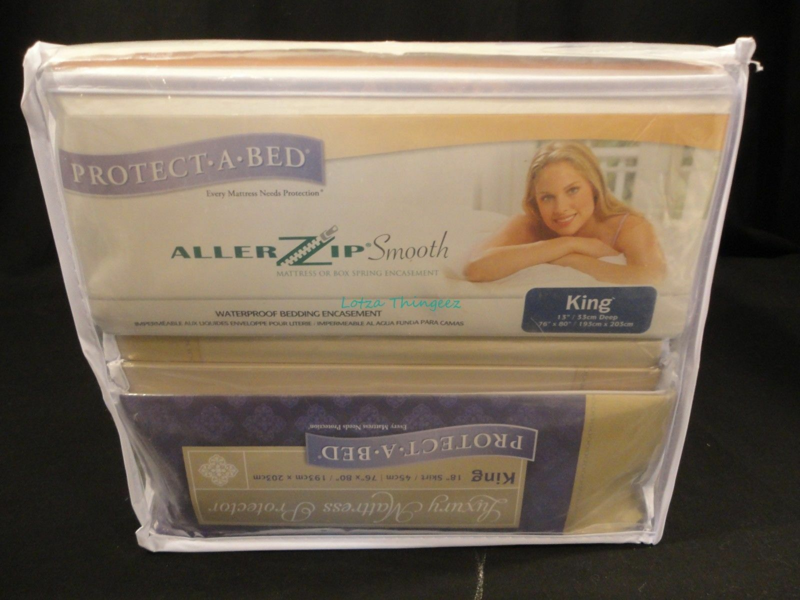 New Tencel Bed Protection Kit 4Pc Waterproof Allergy Keep Bed Bugs Out KING Size