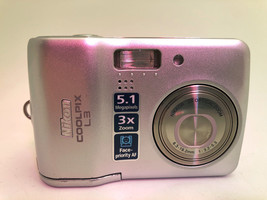 Nikon Coolpix L3 for Parts - $12.60