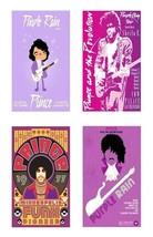 Prince Magnets - Set of 4 - $14.99