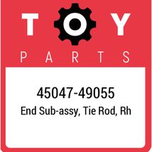 45047-49055 Toyota Tie Rod End, New Genuine OEM Part - $32.95