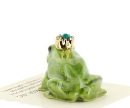 Birthstone Frog Prince May Simulated Emerald Miniatures by Hagen-Renaker image 3
