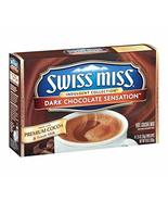 Swiss Miss Chocolate Sensation Hot Cocoa Mix, 8 Count (Pack of 12) - $49.49