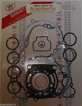 SUZUKI  2003 RM100 Complete Gasket Kit  K&S  19 Pcs RM 100 - $44.55
