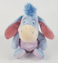 "Disney Eeyore Baby Plush Winnie the Pooh & Friends Just Play 12"" Blue Hair - $14.84"