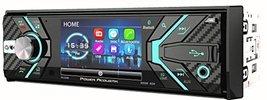 Power Acoustik 348B 1-DIN CD/MP3, AM/FM Receiver with Bluetooth 4.0 & Detachable - $141.56