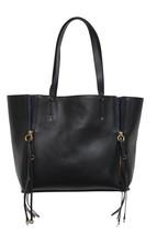 New Chloe Milo Black Calfskin Leather Suede Tote  - $926.10