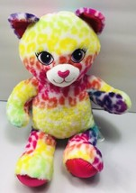 "Build A Bear Workshop Tye Dye Girl Cheetah 18"" Lion Leopard Plush - $32.73"