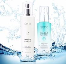 SET SENA MARINE PLANTON WATER SERUM CONCENTRATE 200ML+SENA MARINE SERUM ... - $130.00