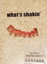 What's Shakin' BACON, 20 Blank Note Cards & Envelopes, TWO SETS, NEW, FR... - $12.60