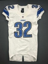 2012 Kevin Barnes Game Issued Detroit Lions Nike Football Jersey Used Ma... - $140.24