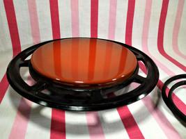 Groovy Vintage 1970's West Bend Burnt Orange Round Electric Food Warmer ... - $18.00