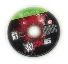 WWE 2K16 (Microsoft XBOX One 2015) Video Game Steve Austin Disc Only - $14.84