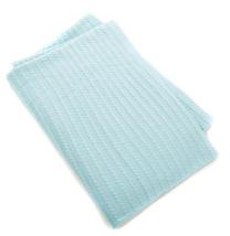 Concierge Collection Platinum Cashmere and Cotton Mini Cable Knit Throw,HSN $119 - $69.29