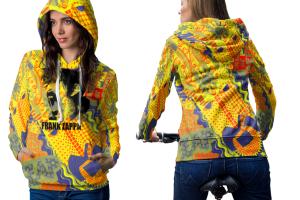 Frank zappa hoodie women